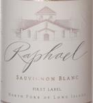 Raphael Sauvignon Blanc Label